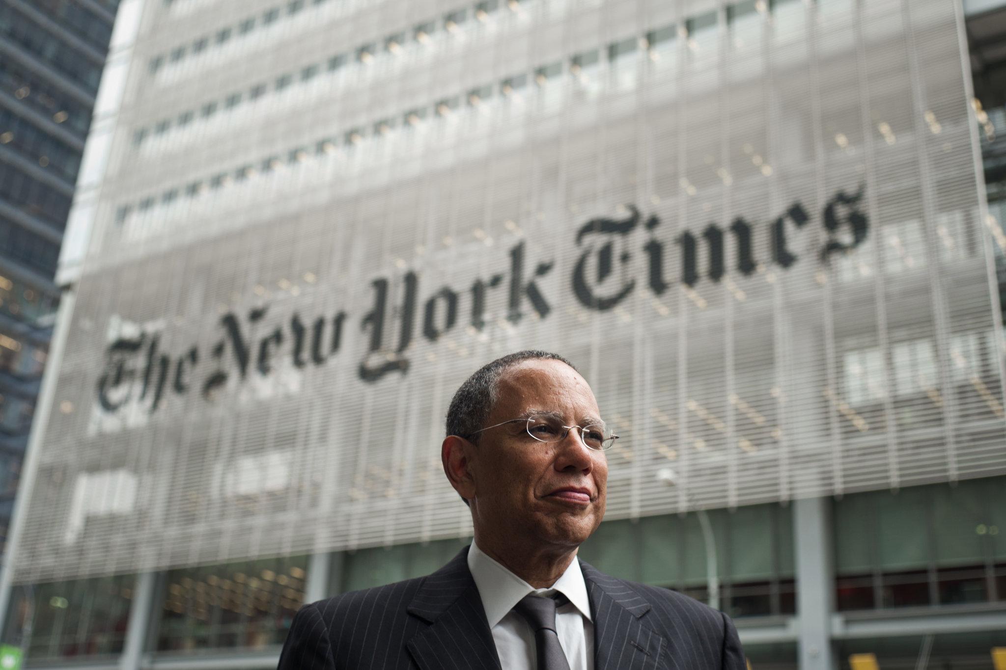Dean Baquet, executive editor of The New York Times