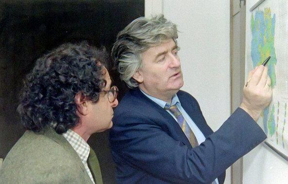 Rosenblum with Radovan Karadzic