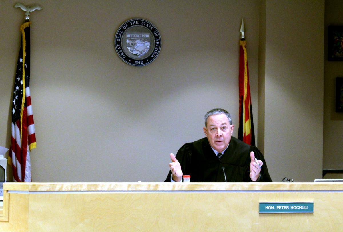Judge Peter Hochuli