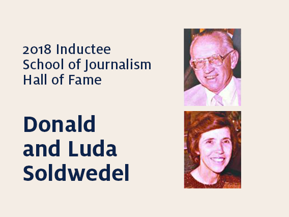 Donald and Luda Soldwedel: 2018 Hall of Fame inductees