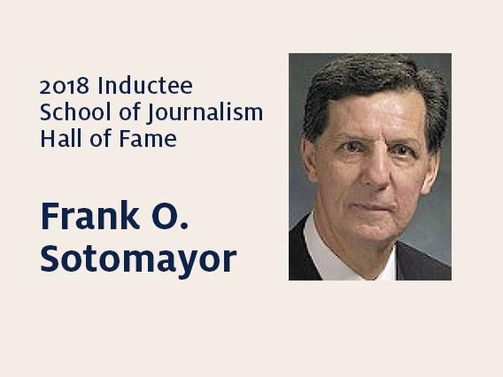 Frank O. Sotomayor: 2018 Hall of Fame inductee