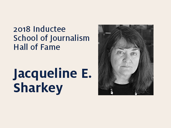 Jacqueline E. Sharkey: 2018 Hall of Fame inductee