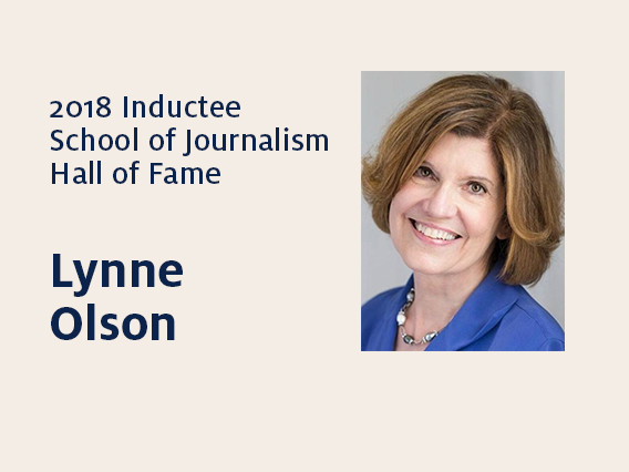 Lynne Olson: 2018 Hall of Fame inductee