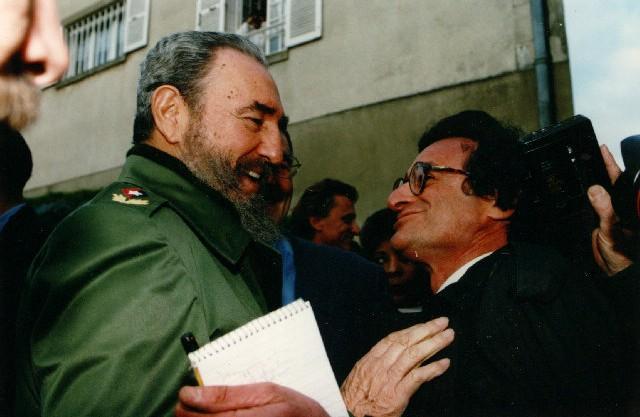 Rosenblum with Fidel Castro