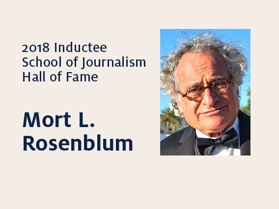 Mort L. Rosenblum: 2018 Hall of Fame inductee