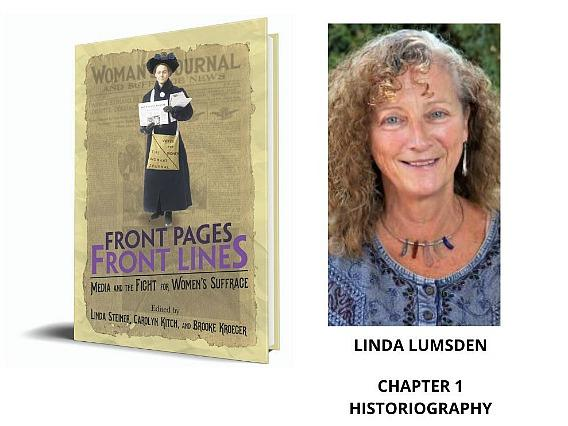 Prof. Linda Lumsden and women's suffrage book