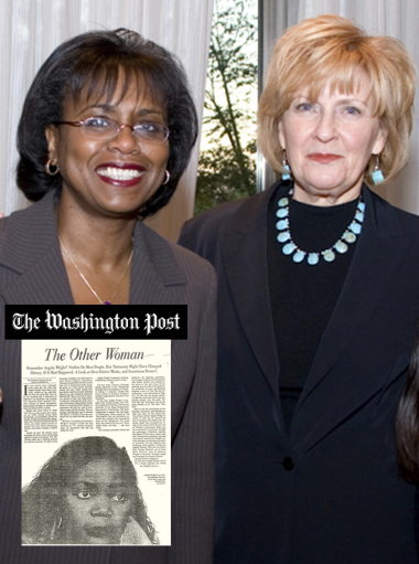 Anita Hill and Florence Graves