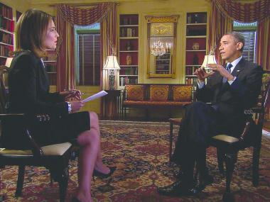 Savannah Guthrie interviews President Obama.