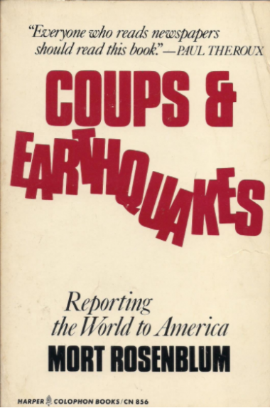 coups and earthquakes bookcover